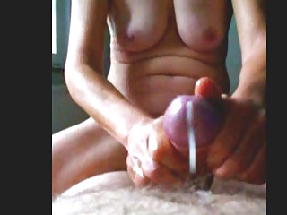wonderful cock massage – perfect handjob