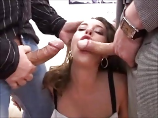 German slut DP