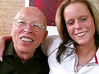 Opa will das Maedchen ficken