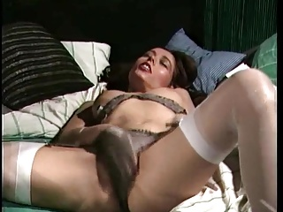 Retro Classic – Satin panties masturbation