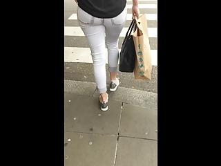 Woman Jeans Ass