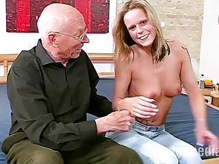 Opa Erwin und das junge Maedchen