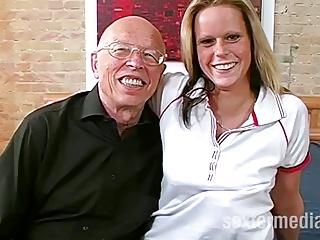 Opa Erwin (82) und das Maedchen – Deutschlandporno!
