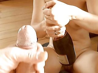 champagner mit schuss