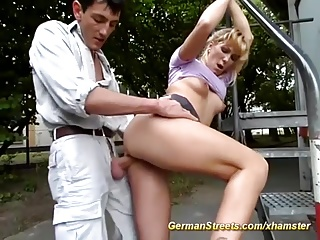 picked up for anal on german street