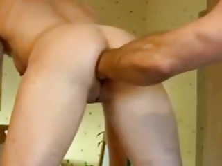 Anal fisting, toying and cumshot