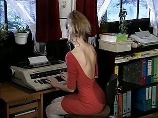 Debbie, hot office fuck