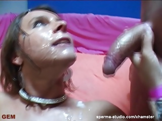 Multiple Cumshot Gangbang – Sexy Susi – P1 ————