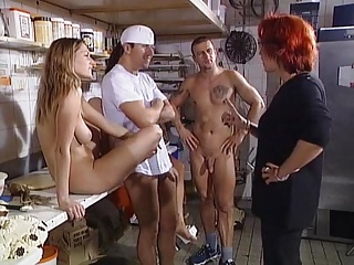 Titus Steel Peeing orgy