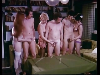 Vintage German Cumshot Competition