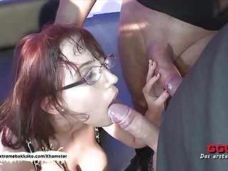 Nerdy Fiona with big natural tits gets creamed – Extreme Buk
