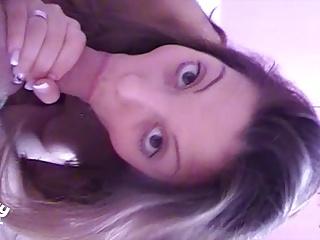 POV amateur teen girl blowjob
