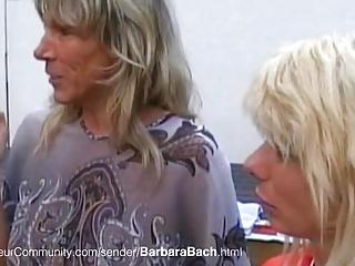 Barbara Bach und Nadja Summer