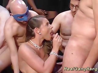 busty sexy susi real gangbanged