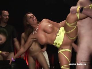 Gangbang Cum Sensation  – Sexy Susi & Mariska – P2 —-.