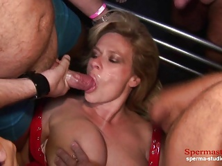 Multiple Cumshots Orgy – Marina Part 1 —————–