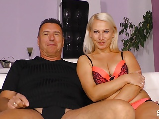 Sextape Germany – First fuck on cam for blonde German newbie