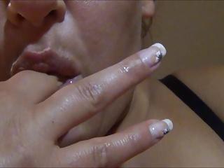German Amateur Milf Masturbation Fingering Selfie