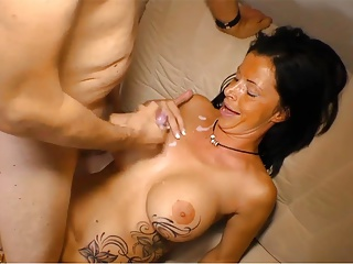 German Best cumshot & facial compilation januar #10