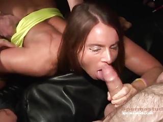 Gangbang Cum Sensation  – Sexy Susi & Mariska – P1 ——-
