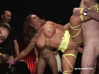 Gangbang Cum Sensation  – Sexy Susi & Mariska – P2 ——-