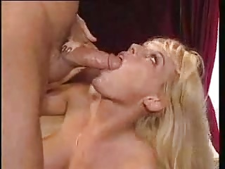 Kelly Trump facialized by huge cock
