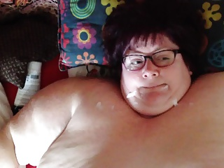 SSBBW Milf gets facial
