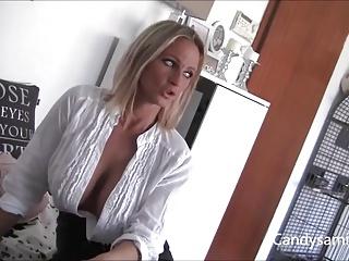 Busty German Samira seduces the Neighbor