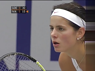 Julia Goerges – beautiful breasts in Linz 2010