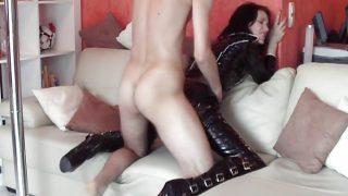 German Latex Bitch (dirty talk)