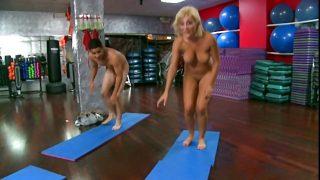 Lexi Swallow naked yoga