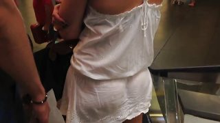 VPL delicious #44 (see thru dress) & Upskirt from heaven
