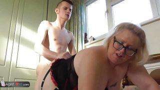 AgedLove mature BBW Lexie fucked by Sam Bourne