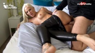 My Dirty Hobby – Busty ass fucked in leather pants