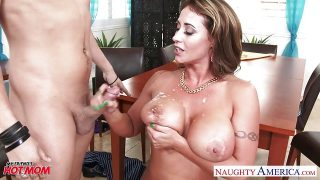 Tattooed mom Eva Notty gets fucked