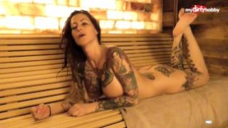 My Dirty Hobby – Busty tattooed MILF blows her man
