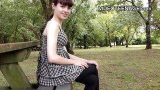 teen Luna porno casting audition