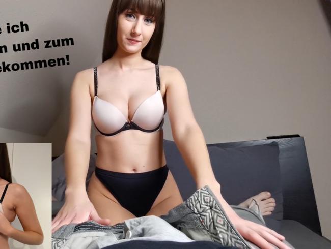 Blowjob Und Gesichtsbesamung Für Deutsches Mädel